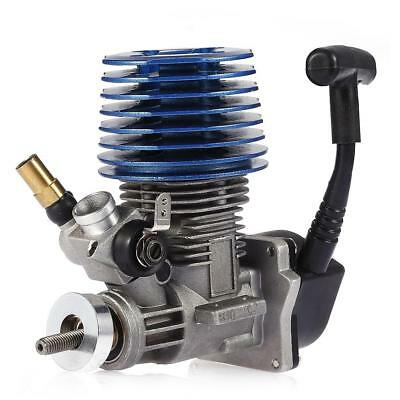 2.49cc 15 Side Exhaust Hand Pull Starter Engine for 1:8 1:10 1:12 Car Boat
