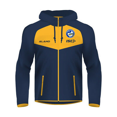 Parramatta Eels NRL 2018 Ladies Tactical Hoodie Top BNWT Rugby League Clothes