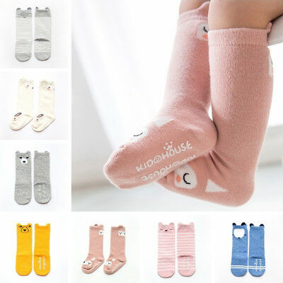 Cute Baby Anti-slip Socks Boy Girl Cartoon Animals Newborn Infant Toddler Socks