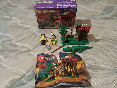 Lego Pirates Islanders Crocodile Cage 6246