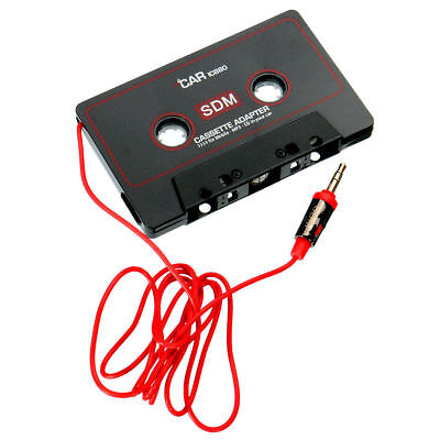 Cassette Car Stereo Tape Adapter for iPod iPhone MP3/P4 AUX CD Player 3.5mm  KF