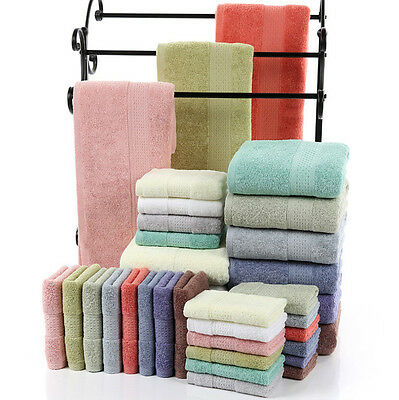 100% Supersoft Towels Set 500 GSM Bath Sheet Hand Large Bale Bathroom 3 Piece