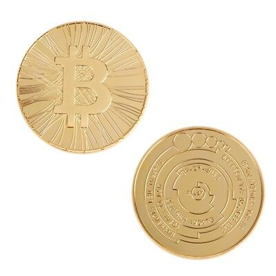 commémorative pièces Bitcoin pièce Collection Coin Gifts With Plastic Case BA