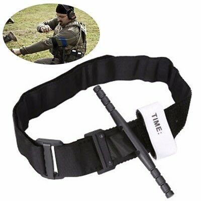 Outdoor Black Tourniquet Buckle First Aid Medical Tool For Emergency Injury
