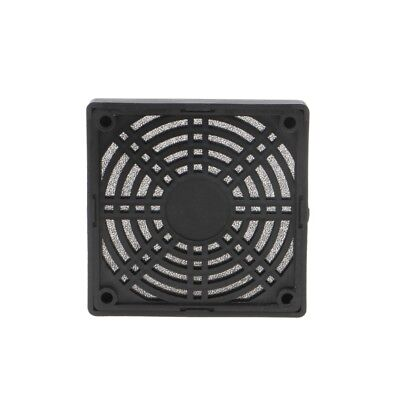 80mm Plastic Dustproof Case Cover Fan Dust-Proof Filter Guard For PC Computer