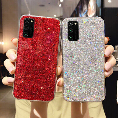 For Samsung Galaxy S10 S10E S9 A70 Bling Case Luxury Glitter Soft Silicone Cover