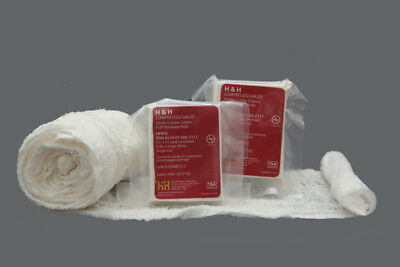 H&H PriMed Compressed Gauze Packing Bandage Dressing IFAK EMT First Aid Kit EMS