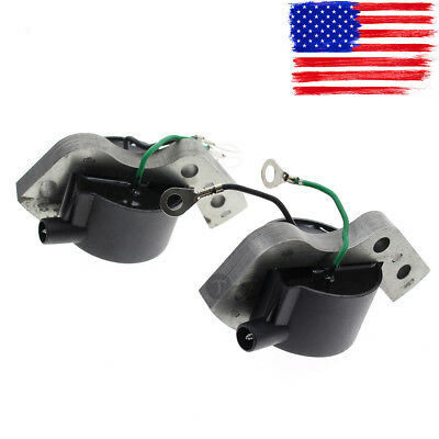 2 pcs New Ignition Coil for OMC Johnson Evinrude Outboard 580416 582995 584477