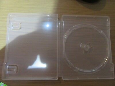PS3 BLU-RAY  Empty Replacement Blank Game Cases x 10 NEW