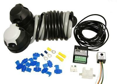Towbar Relay Wiring Kit Audible & Dual Charge Relay Socket Connectors Mp3805