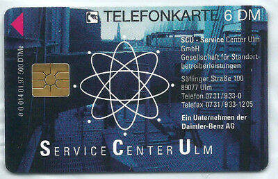 O 014 01.97 SCU Service Center Ulm - Daimler-Benz AG 500 Ex NEU ** MINT RAR !