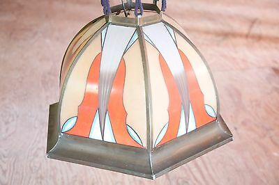 GORGEOUS Authentic Antique ARTS and CRAFTS Chandelier AMSTERDAM SCHOOL Lighting