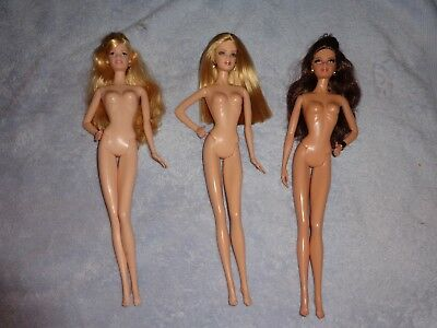 Barbie Model Muse Doll Lot of 3 (LOT#3)