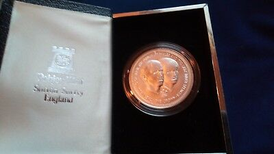 1981 .925 Silver Prince Charles and Lady Diana wedding Isle of Man Crown