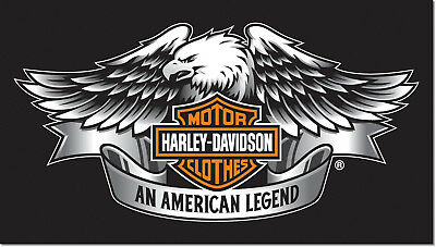 Harley Davidson Logo Photo Refrigerator Fridge Magnet