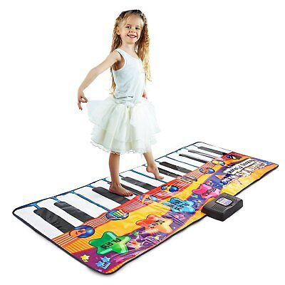 Kids Floor Piano Stepping Toy Electronic Giant Keyboard Play Mat Dance Exercise