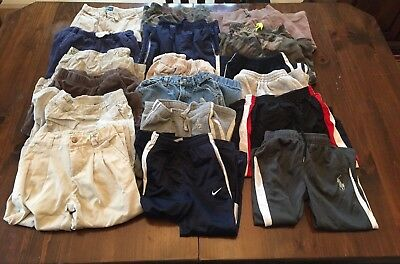 Boys Pants 3t lot, Carter, Nike, Gap, Polo, Ralph Lauren, and more! 18 pairs!