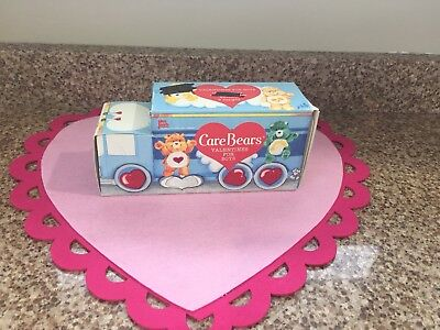 Vintage Care Bears 1987 American Greetings Valentines New Old Stock
