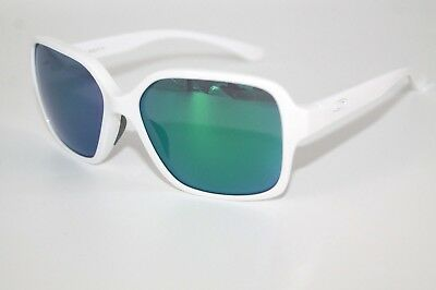 Oakley Proxy Sunglasses OO9312-07 Polished White Frame W/ emerald Iridium Lens
