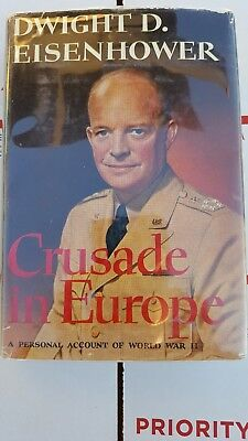 Dwight Eisenhower: Crusade in Europe. 1st edition.