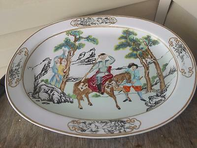 Mottahedeh Vista Alegre Rockefeller Collection Chinese Export Platter FREE SHIP
