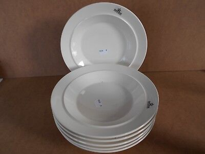6 assiettes creuses Stackable Pieter Stockmans Royal Boch