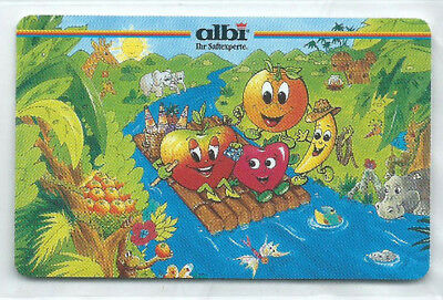 O 168 02.97 albi Saftexperte - Früchte-Cartoon 2.000 Ex NEU ** MINT