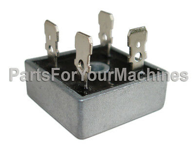 Bridge Rectifier Diode, Single Phase, 600V Qc, 50A, 4 Pins, Kbpc5006, 5C25