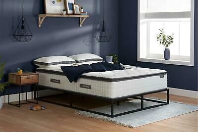 Sleep Soul Bliss Double 135cm 4FT6 Mattress Pillow Top Memory Foam Pocket Sprung