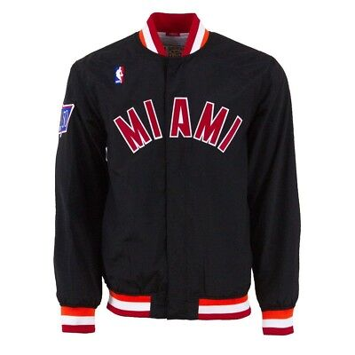 Men's NBA Mitchell & Ness Jacket - Authentic Warm Up - 1996 Miami Heat