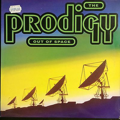"""The Prodigy - Out Of Space (XL Recordings XLT 35) 1992 Jungle Classic 12"""" Vinyl"""