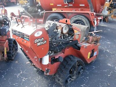 "2014 Ditch Witch Rt20 Walk Behind 36"" Honda Gx630 Gas Self Propelled Tracked"