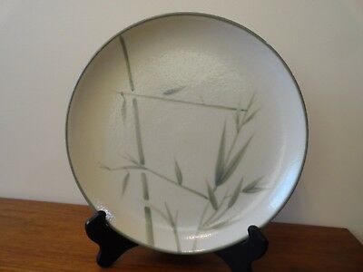 """Winfield BAMBOO Platter 11 1/4""""  Large Round Vintage Green CA USA 2 Available"""