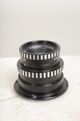 Schneider 105mm f4.5 Componar mounted on focusing helicoid