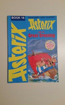 Asterix and the Great Crossing (Classic Asterix paperbacks), Goscinny, Uderzo,