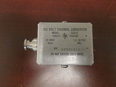 Agilent HP 11051A Thermal Converter (Works!)