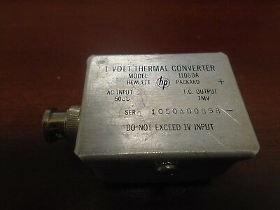 Agilent HP 11050A Thermal Converter (Works!)