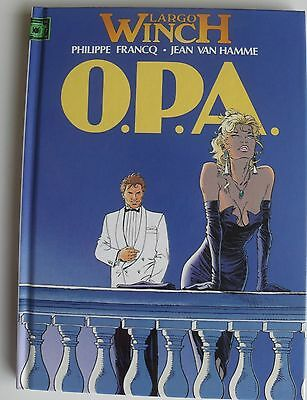Largo Winch Le Groupe W O.p.a. Tome 3 Van Hamme 1993 ?