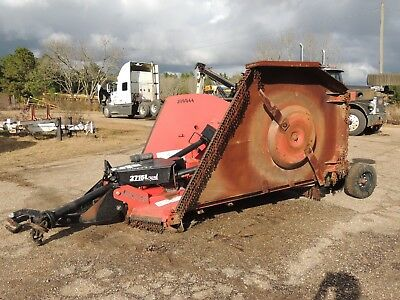 2007 Bush Hog 2715L Flex Wing Rotary Batwing Cutter in Mississipp NO RESERVE