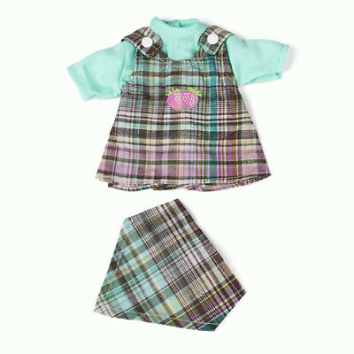 Miniland Clothing Pinafore, Bandana & Tee for 32cm doll