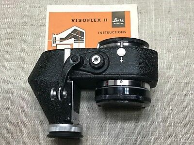 Leica  Visoflex II Reflex Housing (OTDYM) with viewing magnifier (OTXBO), manual