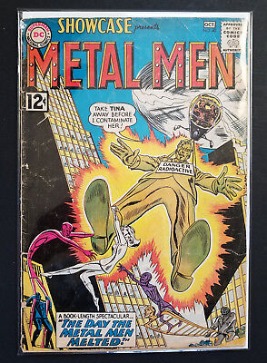 "Showcase #40 Metal Men ""The Day The Metal Men Melted!"""