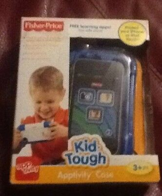 Kids Boys Blue Sturdy Apptivity Case Kid-Tough Protect IPhone Ipod Fisher-Price