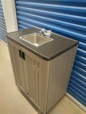 Self contained Portable Handwash sink cold Water