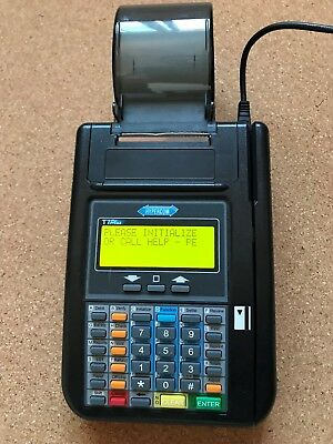 Used Hypercom T7Plus Credit Card Machine Very Good Condition