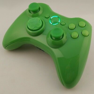 Controller Xbox 360 Wireless game remote gamepad Glossy Gloss Green