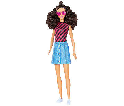 Barbie Mattel Barbie Fashionistas Denim and Dazzle Tall Doll Toy Collectibles