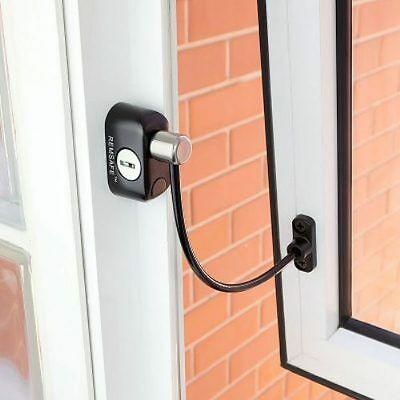 Remsafe Window Cable Lock (Black) child proof safety restrictor for all windows