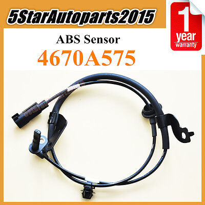 4670A575 Front Left ABS Wheel Speed Sensor for Mitsubishi Lancer Outlander 07-16