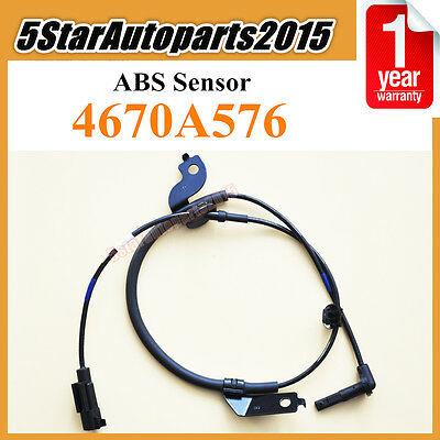 Front Right ABS Speed Sensor 4670A576 fits 2007-2016 Mitsubishi Lancer Outlander